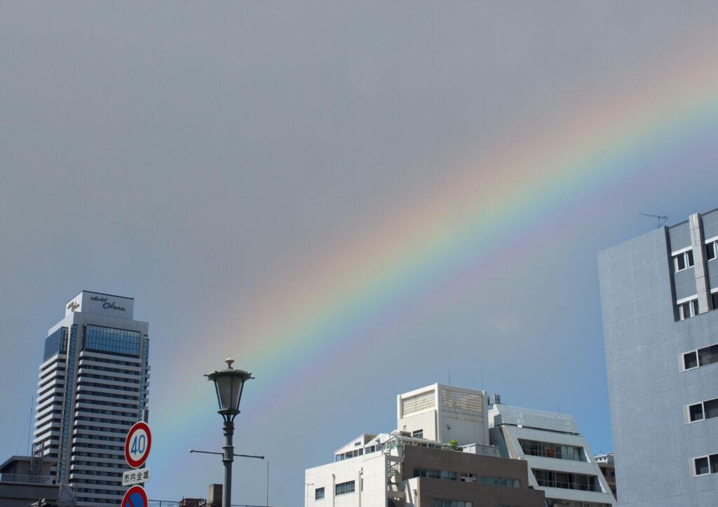 神戸の空を置き換え